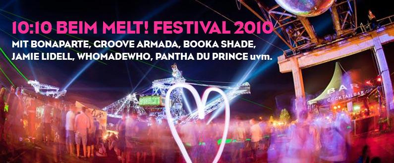 "Featured image for ""Green 10:10 Artists beim Melt! Festival"""