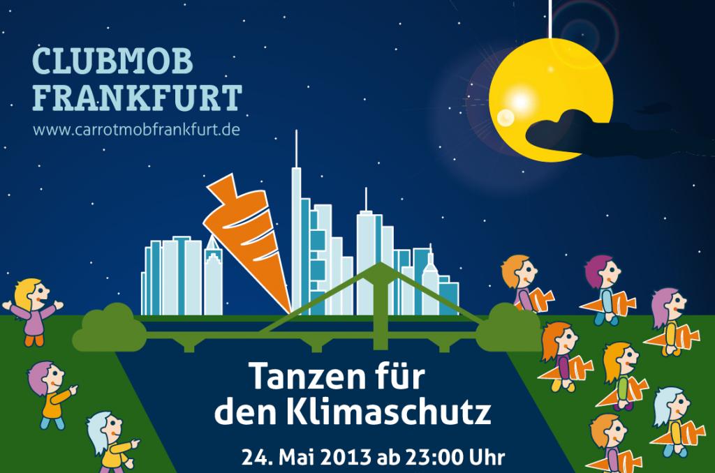 """Featured image for """"Tanzen fürs Klima – erster Clubmob Frankfurt im Doppelpack!"""""""