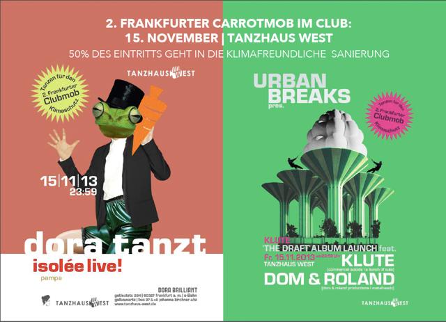 """Featured image for """"2. Frankfurter Clubmob – Tanzen fürs Klima"""""""