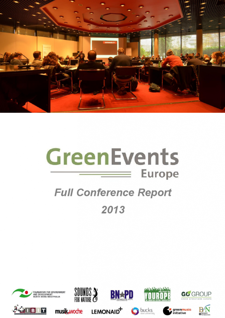 """Featured image for """"Out now: Full Conference Report of the 4th GreenEvents Europe Conference"""""""