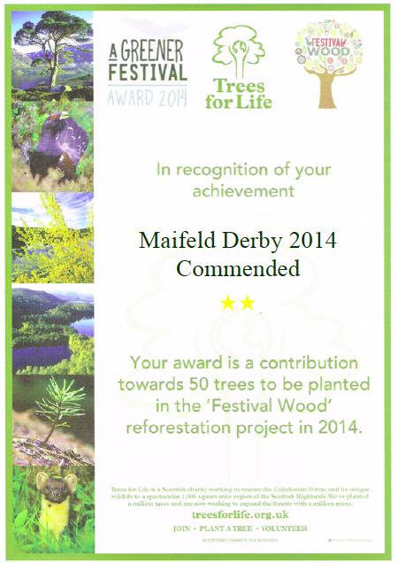 "Featured image for ""Maifeld Derby erhält ""Greener Festival Award"""""
