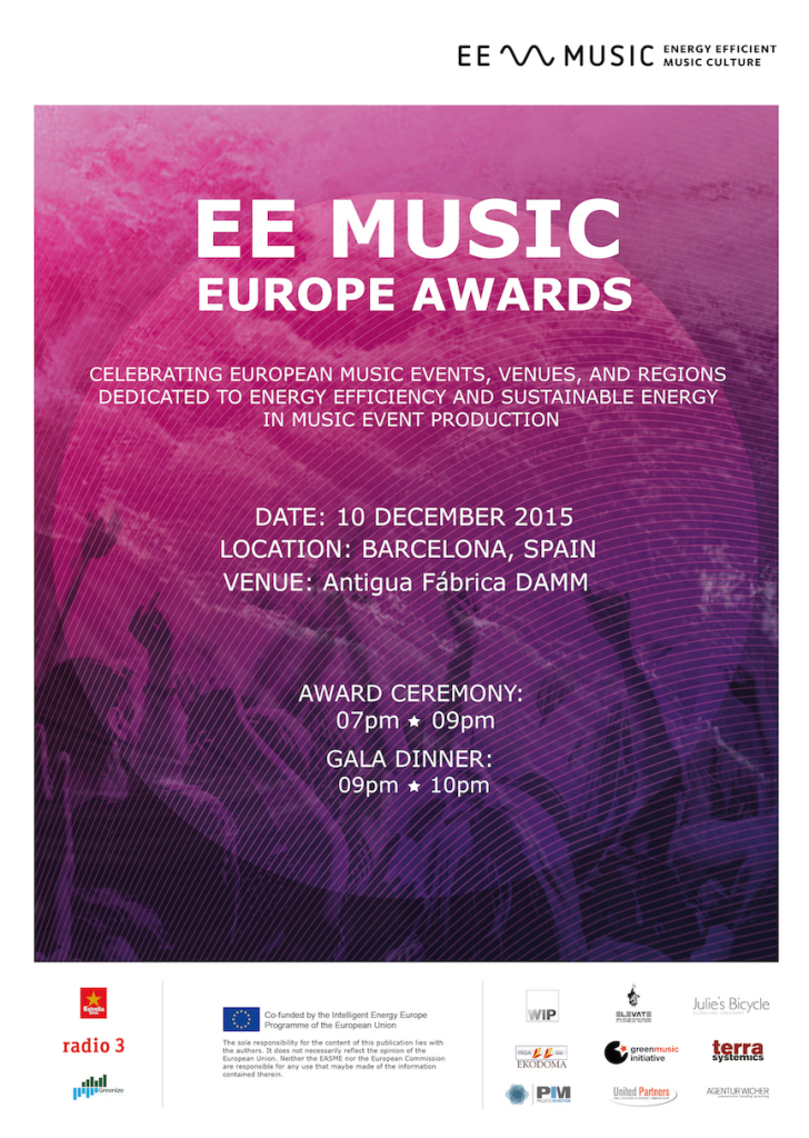 """Featured image for """"EE MUSIC Europe Awards 2015"""""""