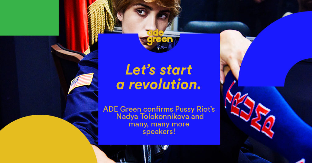 """Featured image for """"Ready to start a Revolution at ADE Green 2017?"""""""